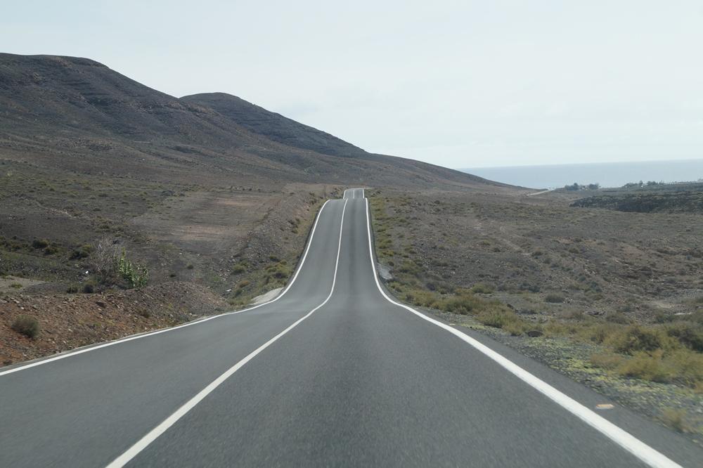 drogi na Fuerteventurze