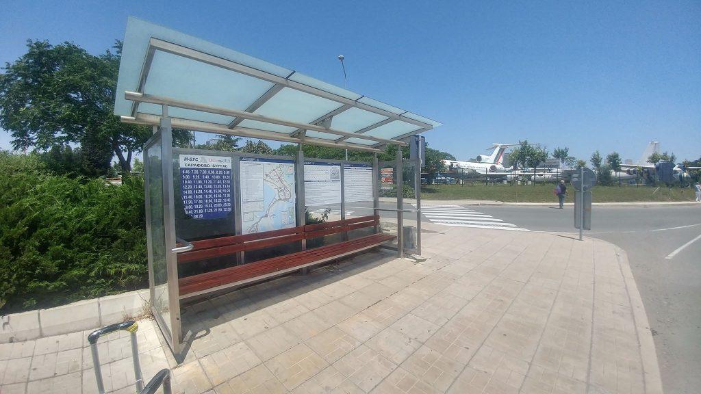 przystanek autobusowy Burgas