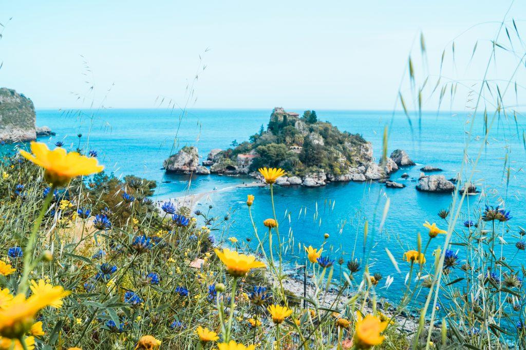 Plaża isola bella